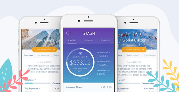 Invest With Stash App for Summertime