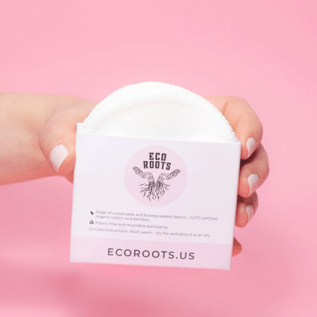Eco Roots Cotton Rounds