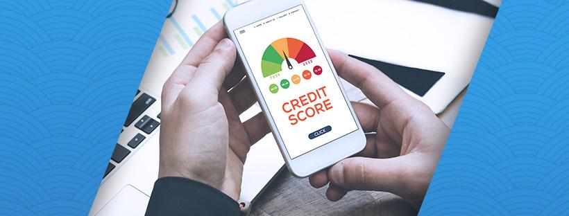 Debt settlement credit score