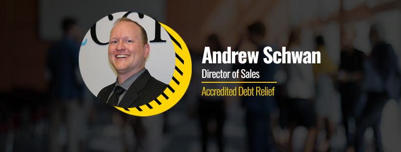 Andrew Schwan, Director of Sales at Accredited Debt Relief