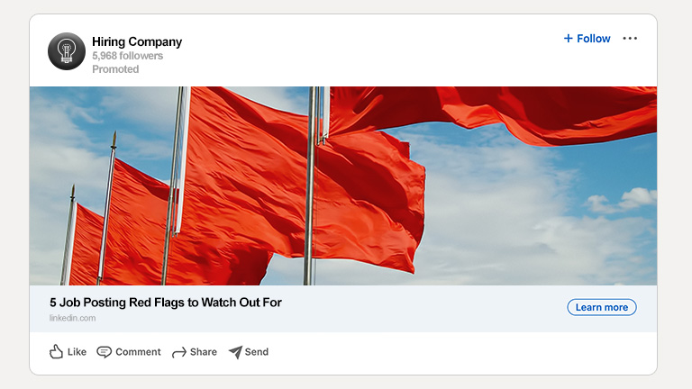 5 Job Posting Red Flags to Watch Out For