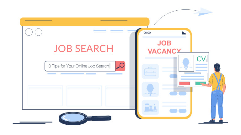 10 Tips for Your Online Job Search