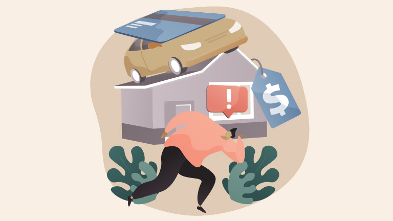 Do You Have Too Much Debt? Calculate Debt-to-Income Ratio