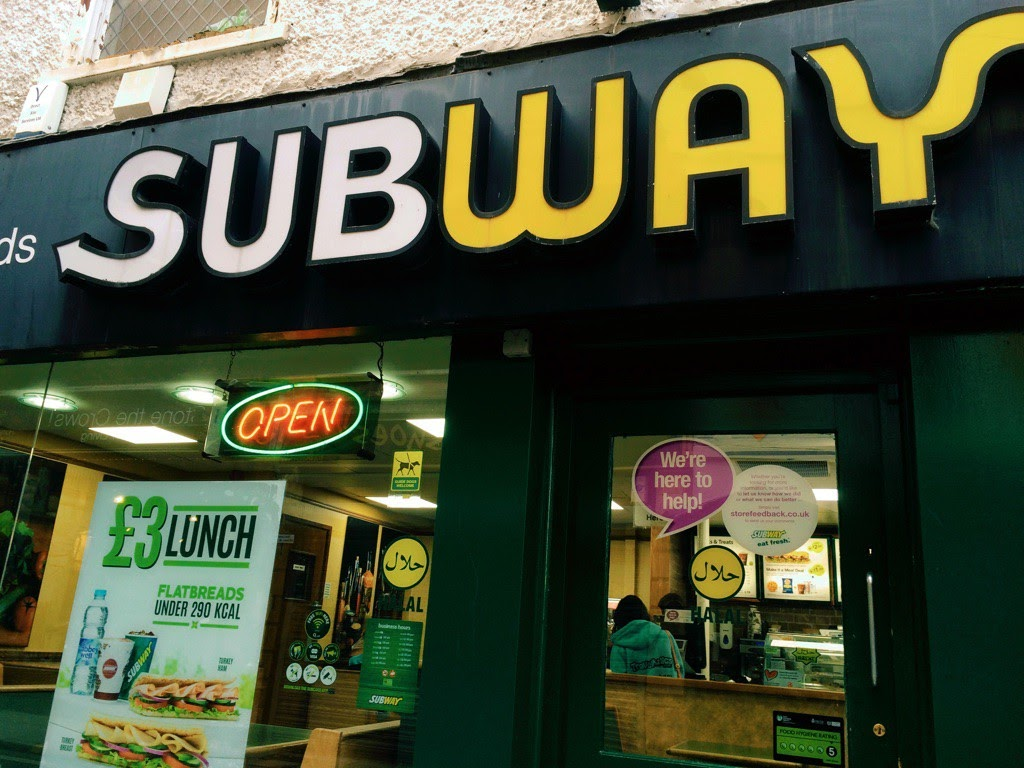 Subway with Halal Meat